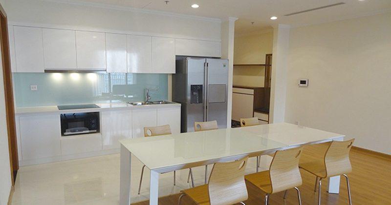 Cho thuê CHCC Ngọc Khánh Plaza, tầng 19, 132m2, 3 phòng ngủ, đủ nội thất 19tr/tháng 518556