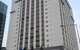 Cho thuê chung cư Nam Đồng 187 Tây Sơn nội thất cơ bản giá thuê 14 triệu/th