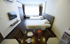 Cho thuê căn hộ dịch vụ Hoàng Quốc Việt, đầy đủ tiện nghi, chỉ việc xách vali vào ở