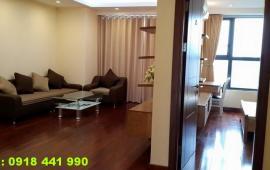 Cho thuê căn hộ chung cư Mulberry Lane, tầng 18, 125m2, 2PN, đủ đồ sang trọng. 11 triệu/tháng