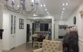 Cho thuê chung cư Mulberry Lane, 132m2, tầng 20, 3 phòng ngủ, đủ nội thất, hướng Nam
