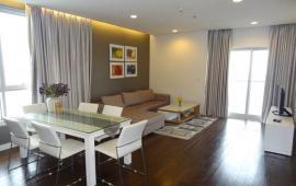 Cho thuê CHCC 57 Láng Hạ, 122m2, view hồ, 2 phòng ngủ, đủ đồ, 14 triệu/tháng