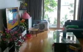 Cho thuê chung cư 57 Láng Hạ, 142m2, 3 PN, đủ đồ, 16 triệu/th, tầng 18