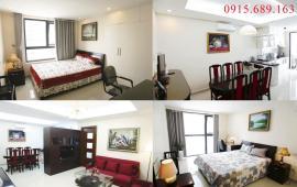 Cho thuê căn hộ chung cư Golden Land 112.5m2, 3PN, giá 13 triệu/tháng