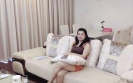 Cho thuê căn hộ chung cư Golden Land, DT 132 m2, 3 phòng ngủ, đủ đồ
