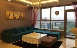Cho thuê chung cư Mandarin tòa C 168m2, ban công Đông Nam, giá 25tr/th