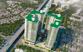 Gia đình có việc cần tiền bán gấp căn hộ 07 toà CT4 Eco Green City, căn 3 phòng ngủ hướng Đông nam