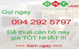 Đang cho thuê chung cư Thăng Long Number One có DT 134m2, 3PN, đầy đủ nội thất, giá 26 triệu/tháng