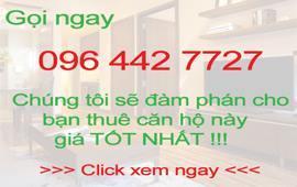 Gia đình không có nhu cầu ở cho thuê căn hộ chung cư diện tích 60m2 có 2 phòng ngủ nội thất đầy đủ !!!