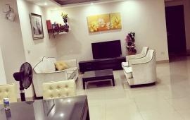 Cho thuê căn hộ chung cư 173 Xuân Thủy, 110m2, 3PN, đủ đồ, căn góc 12 triệu/tháng