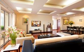Cho thuê CHCC 113 Trung Kính, căn góc, tầng 12, 150m2, 3 phòng ngủ, nhà có đầy đủ đồ 12tr/th