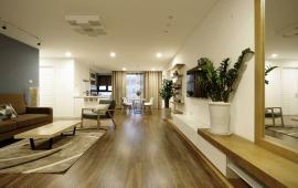 Cho thuê căn hộ chung cư Golden Land. CH DT 132 m2, thiết kế 3 PN call 0915825389 vào ở luôn