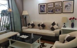 Cho thuê CHCC 170 Đê La Thành, 98m2, 2 phòng ngủ, nội thất đủ 12tr/tháng. LH 0918441990