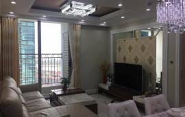 Cho thuê CHCC Vincom Center Bà Triệu, tầng 20, 137m2, 2 phòng ngủ, nội thất nhật 24tr/tháng