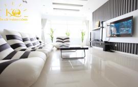 Tôi cho thuê căn hộ 165 Thái Hà, Sông Hồng Park View 125m2, 3PN, full đồ đẹp, giá 13tr/tháng