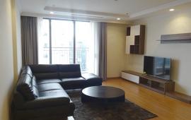 Cho thuê CHCC Ngọc Khánh Plaza, tầng 19, 132m2, 3 phòng ngủ, đủ nội thất 19tr/tháng