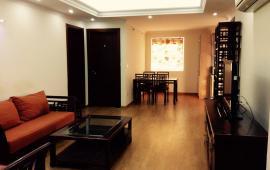 Cho thuê căn hộ chung cư N09B1 Dịch Vọng, Cầu Giấy, DT 124m2, 3 PN, đủ đồ giá 12 triệu/th