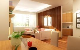 Cho thuê chung cư Yên Hòa Thăng Long Mạc Thái Tổ 85m2, 2 PN, đồ cơ bản giá 10 triệu/tháng