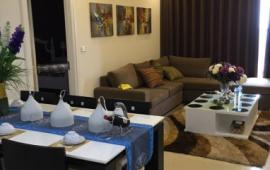 Cho thuê CHCC Golden Place tòa B, 128m2, 3 phòng ngủ, đủ nội thất tốt 17 triệu/tháng, LH 0918441990