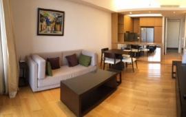 Cho thuê CH Indochina Plaza, tầng 20, 128m2, 3 PN sáng, đủ nội thất, giá 28 tr/th. LH 0918441990