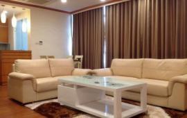 Cho thuê CHCC 71 Nguyên Chí Thanh, 98m2, 2 phòng ngủ sáng, nhà đủ nội thất 12tr/th