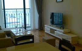 Cho thuê CHCC Hoàng Thành Tower, tầng 16, 120m2, 2 phòng ngủ, nội thất mới 33tr/tháng