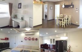 Cho thuê căn hộ tại chung cư 102 Thái Thịnh 115m2, 2PN giá 12 triệu/tháng