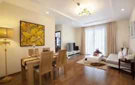 Cho thuê CHCC Hoàng Thành Tower, tầng 16, 128m2, 2 phòng ngủ, nội thất tốt 33tr/tháng
