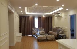 Cho thuê căn hộ chung cư 125 Hoàng Ngân Plaza diện tích 80m2 thiết kế 3 phòng ngủ LH 0915.825.389