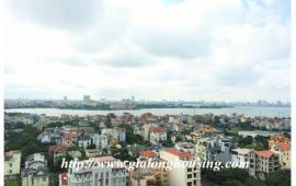 Cho thuê gấp căn hộ 3PN, View hồ Tây tại chung cư CT13B khu đô thị Ciputra, Tây Hồ