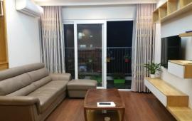 Cho thuê CH Golden Place, căn góc 128m2, 3 phòng ngủ sáng, đủ nội thất tốt 18 tr/tháng