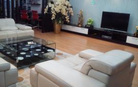 Cho thuê chung cư 93 Lò Đúc,3 PN, đủ đồ,123 m2, giá 18 triệu/tháng.