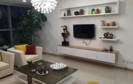 Cho thuê CHCC Golden Palace Mễ Trì, DT 120m, 3 PN full nội thất đẹp, tầng cao căn góc giá 19tr/th