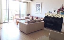 Cho thuê căn hộ chung cư Lancaster Núi Trúc, 3 phòng ngủ, 125m2, đủ đồ đẹp, giá 30 tr/th