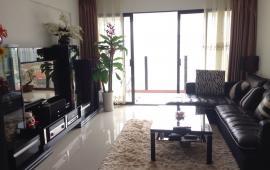 Cho thuê chung cư 165 Thái Hà, căn 120m2, 3 phòng ngủ, đủ đồ, giá thuê 14 tr/tháng. LH 0936 381 602
