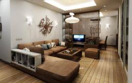 Cho thuê CHCC Golden Land, căn góc, 3 phòng ngủ, đủ đồ, 14tr, 09.36.38.86.80