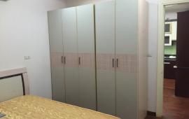 Cho thuê căn hộ 27 Huỳnh Thúc Kháng, DT 110m2, 3 phòng ngủ, full nội thất. Giá thuê: 13 tr/th