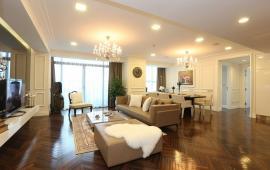 Cho thuê CHCC VINCOM Bà Triệu tầng 22, 161m2, 3 phòng ngủ thoáng, nội thất đẹp 38tr/tháng LH: 0129 8888 836