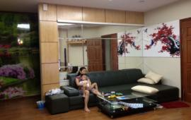 Cho thuê căn hộ chung cư 173 Xuân Thủy 91m2 2 phòng ngủ đủ đồ đẹp. Giá 13 triệu/tháng