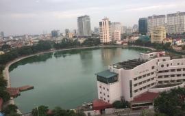 Căn hộ cho thuê tại Ngọc Khánh Plaza số 2 Phạm Huy Thông, S: 112m2, 2PN, full đồ đẹp. Giá 14tr/th