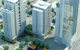 Cho thuê căn hộ 25 Lạc Trung, Hai Bà Trưng 137m2, 03 phòng ngủ, 02 WC, đồ cơ bản, giá 13tr/tháng