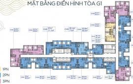 Ck giảm trừ 4tr/m2 thông thủy cho khách hàng nhận bàn giao thô tại Vinhomes Green Bay Mễ Trì-2,3 tỷ căn 2 ngủ