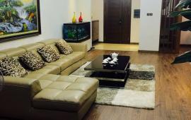 Cần cho thuê căn hộ tòa M3 M4 Nguyễn Chí Thánh : 3 phòng ngủ, 117m2, đủ đồ. Gía 15tr/th