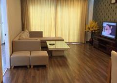 Cho thuê CHCC Golden Land căn tầng 20, 145m2, 3 Phòng Ngủ, nội thất đẹp 13tr/tháng. LH 0918441990