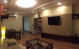 Cho thuê gấp CHCC cực đẹp tại tòa 165 Thái Hà, 105m2, 3PN, full đồ, 15tr/th. LH: 0918327240.
