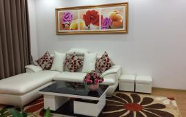 Cho thuê căn hộ 2PN đủ đồ chung cư 28 tầng Làng Quốc Tế Thăng Long Trần Đăng Ninh, giá 12tr/th