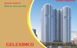 Chung cư Gemek Premium nhận nhà tháng 9-2017 tặng xe tay ga Honda