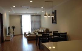 Cho thuê CHCC Vinhomes tầng 18, căn góc 127m2, 3 phòng ngủ sáng, đủ đồ , 25tr/tháng,