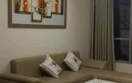 Cho thuê CHCC 165 Thái Hà tòa A tầng 19, 126m2 căn góc 3 PN nội thất đẹp 14tr/th