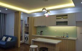 Cho thuê chung cư CT2B Nghĩa Đô, Hoàng Quốc Việt, Cầu Giấy, DT 75m2, 1PN, đồ cơ bản. Giá 9tr/th